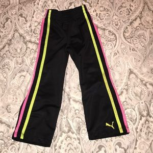 Puma warm up pants, 4T